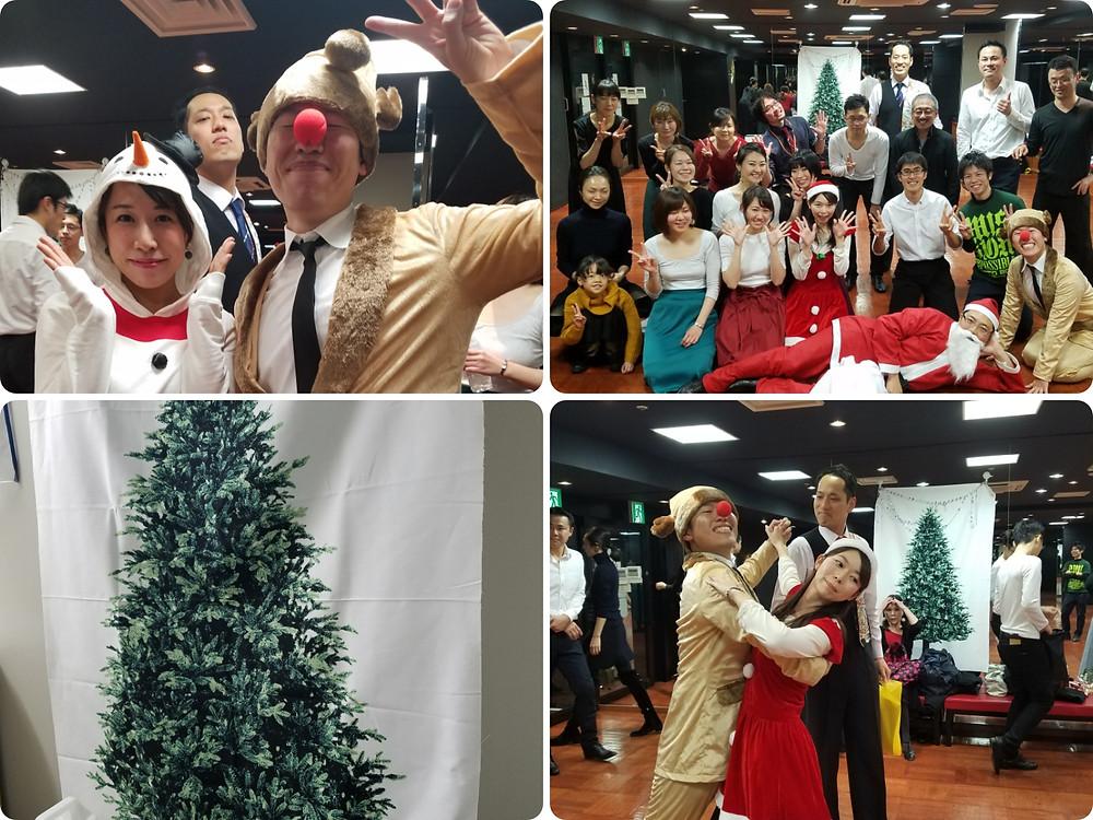 エニーダンス 社交ダンス クリスマス