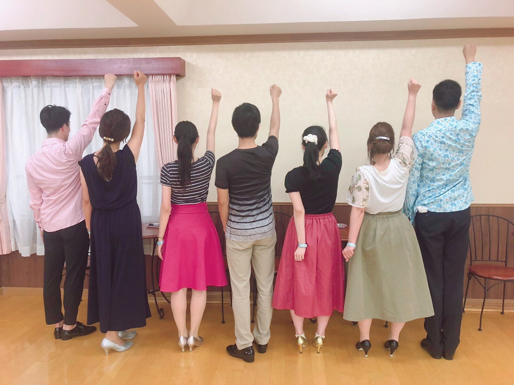 社交ダンス ダンス エニー エニーダンス 大阪 趣味