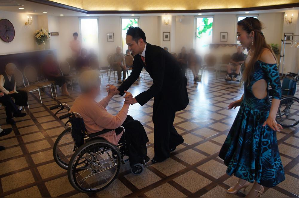 車椅子ダンス 社交ダンス ダンス エニー エニーダンス