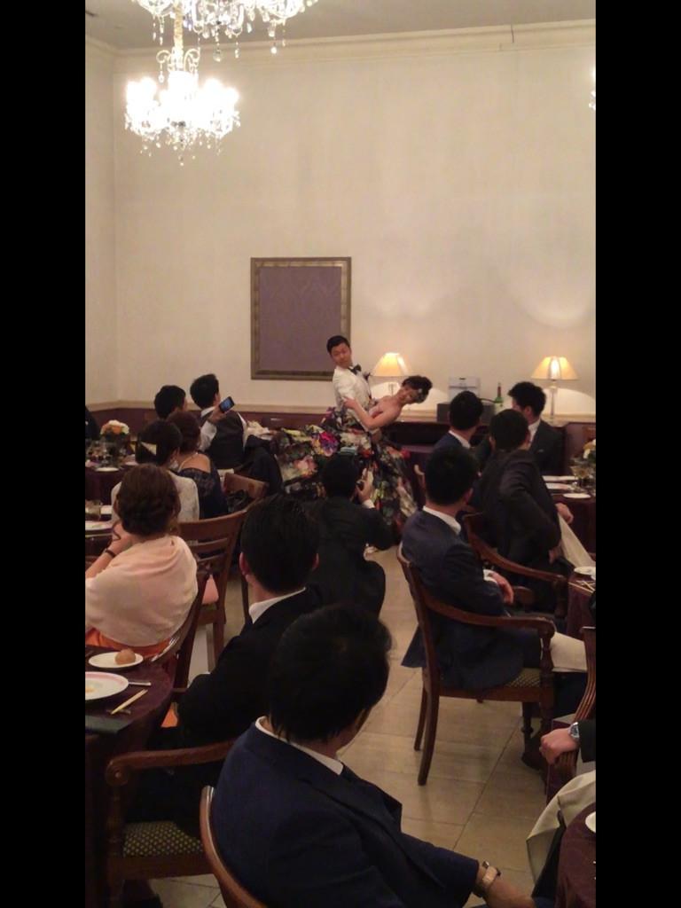 ウエディングダンス エニー ファーストダンス 大阪 結婚式 社交ダンス