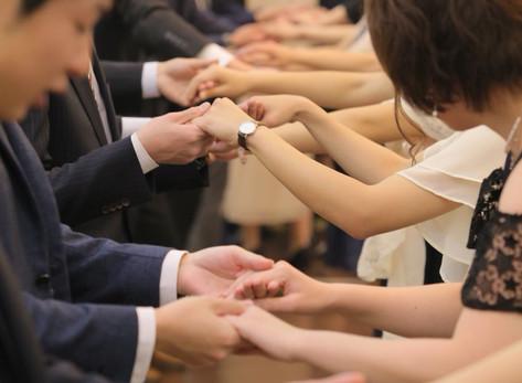 結婚式でのワークショップ