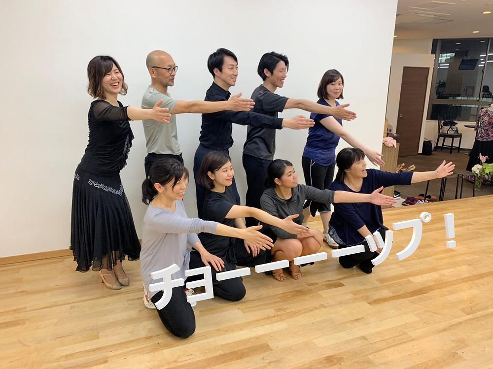 エニーダンス 社交ダンス