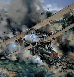 DH9 221 Squadron RAF. Russia 1919