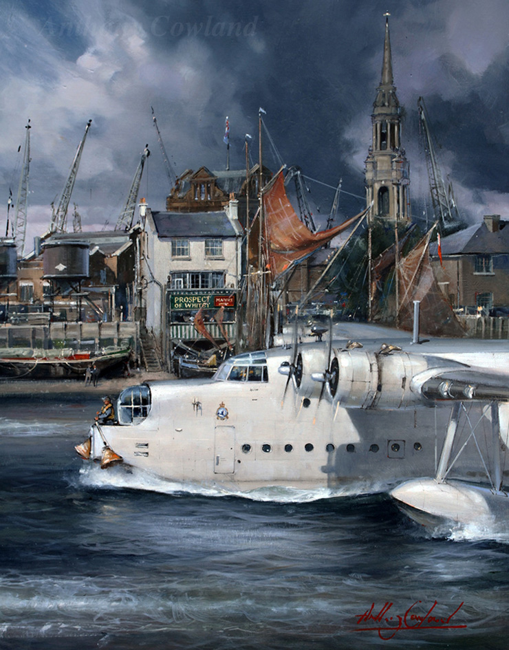 Short Sunderland Prospect of Whitby