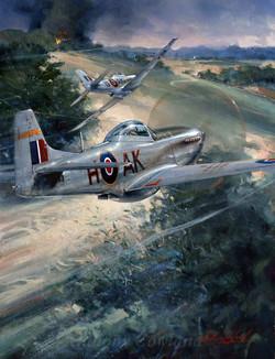 RAF Mustang. Italy and Balkans 1945