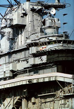 USS Intrepid island, New York