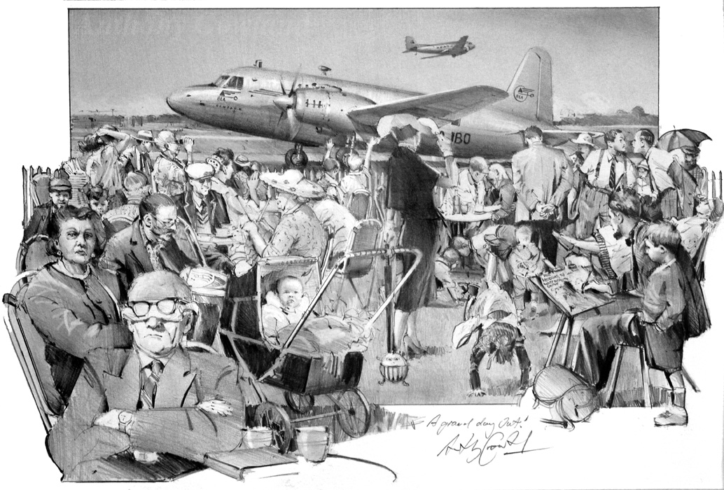 A Grand Day Out. Northolt Airport 1948