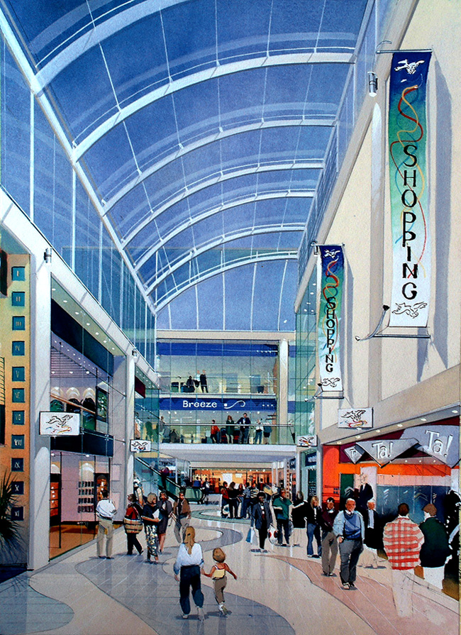 Shopping centre Oldham02