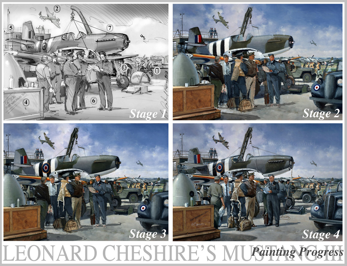 Leonard Cheshire Mustang progress