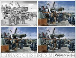 Leonard Cheshire Mustang progress
