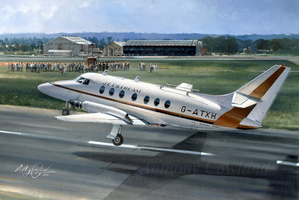 Handley Page Jetstream first flight
