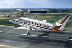 Handley Page Jetstream first flight