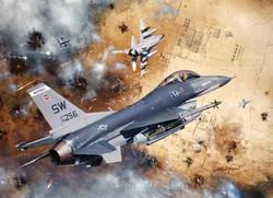 General Dynamics F-16 (Gulf War 1991)