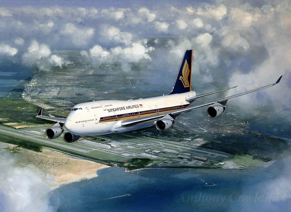 Singapore Airlines 747