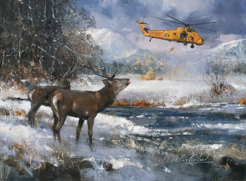 The Lifeline, Deer in Scotland