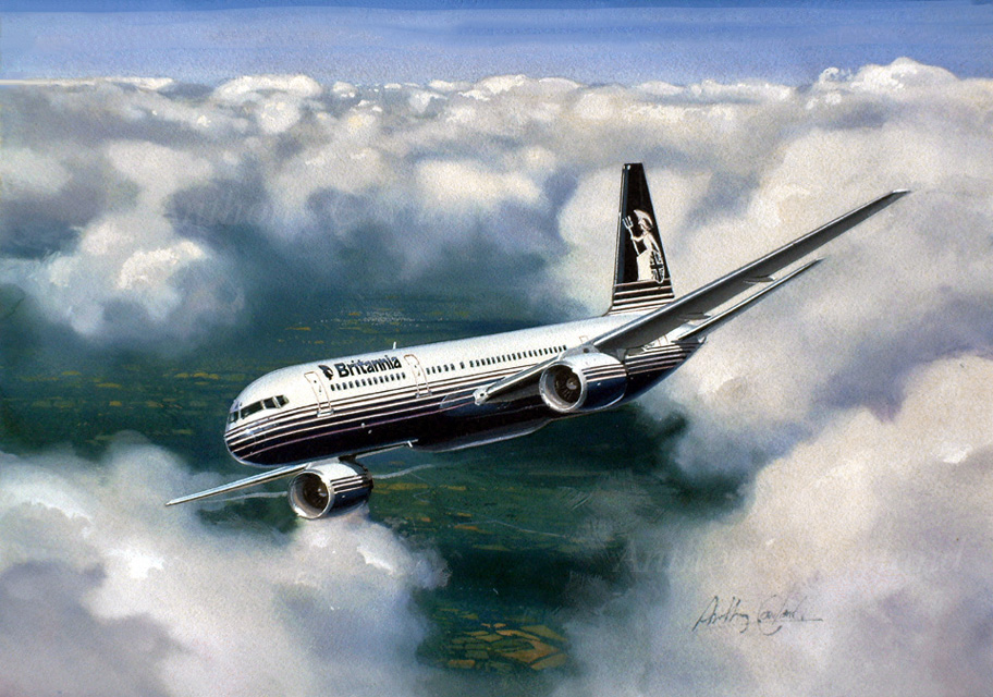 Boeing 757 Britannia Airways
