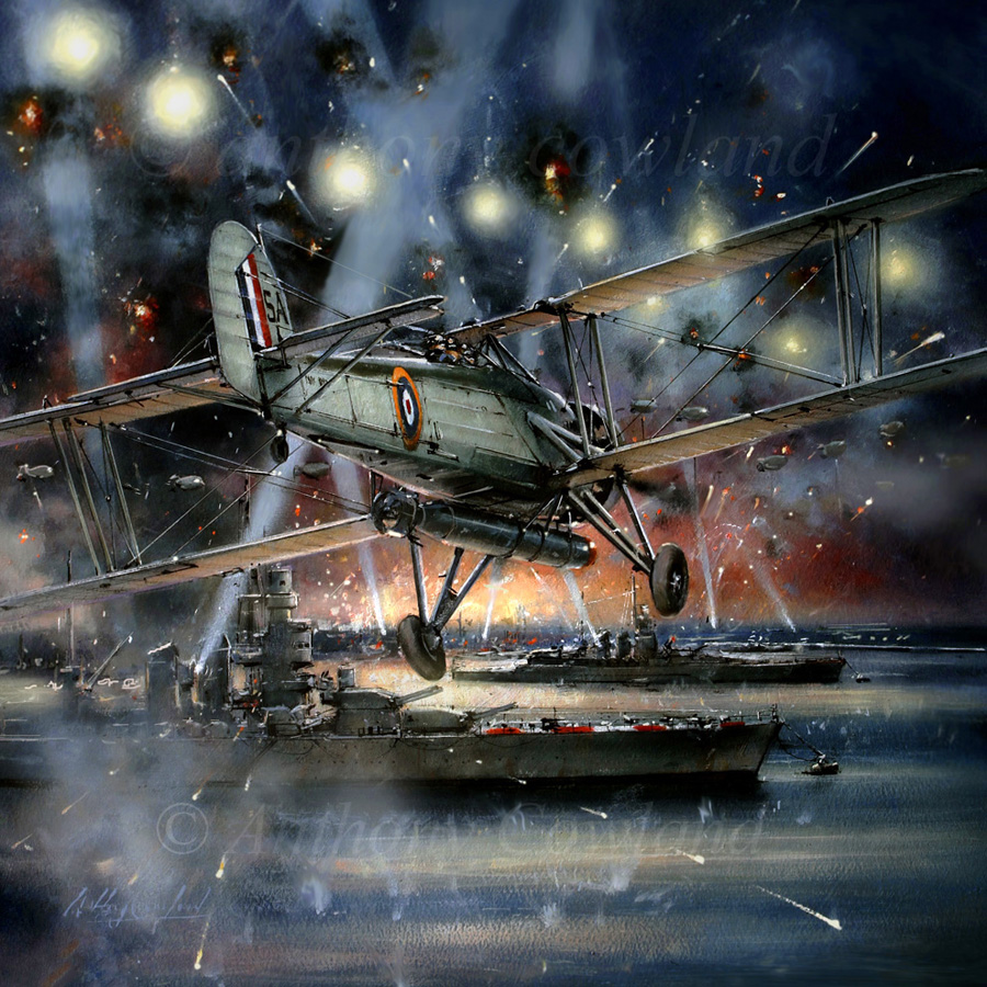 Fairey Swordfish, Taranto1940