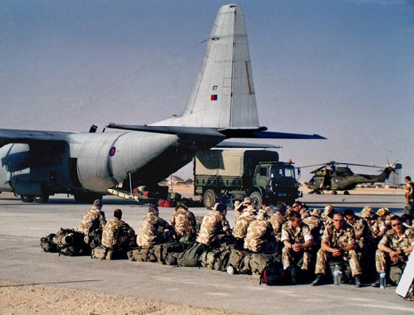 Lockheed Hercules. Oman