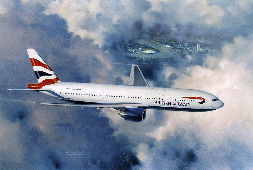 Boeing 777 British Airways
