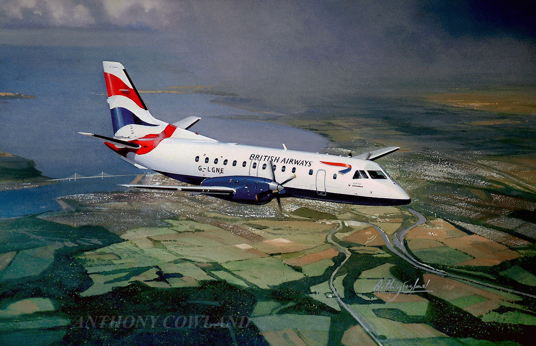 Saab. British Airways Scotland