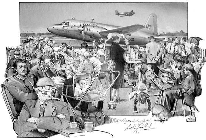 A Grand Day Out. Northolt Airport 1948.j