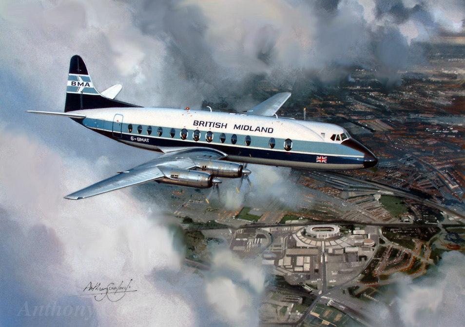 Vickers Viscount British Midland