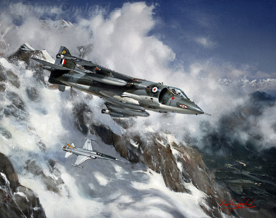 Hawker Siddeley Harrier GR1 visiting Norway