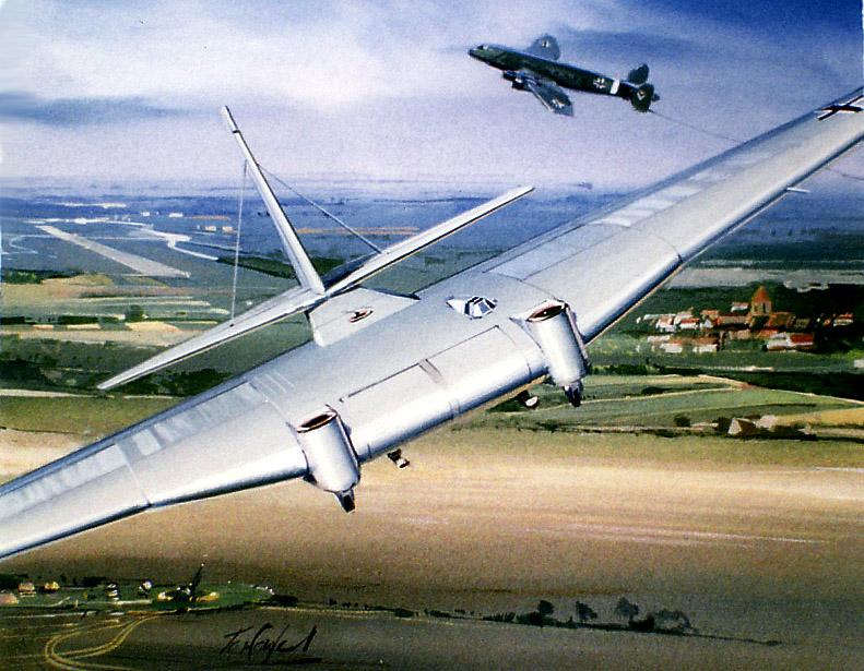 Junkers Ju-322 Mammut transport glider