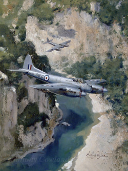 De Havilland Hornet F3. In Malaysia
