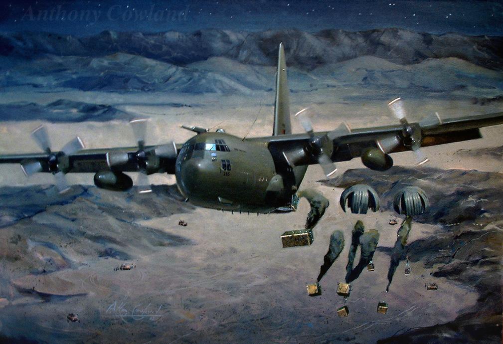 Lockheed C-130J Hercules 47 Sqn RAF