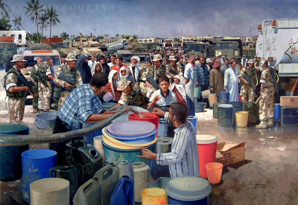 10 Transport Regt. Basrah Iraq