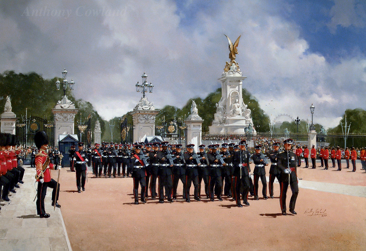 7 Transport Regt. Buckingham Palace