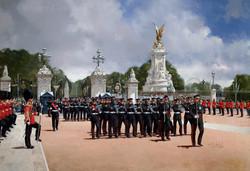 7 Transport Regt. Buckingham Palace