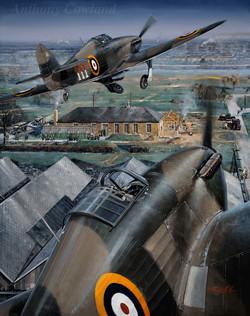 Hawker Hurricane 111 Sqn RAF Northolt 1939