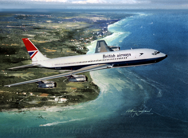 Boeing 707 British Airways