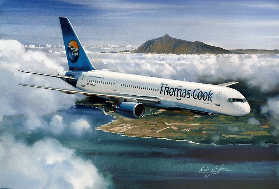 Boeing 757.200 Thomas Cook