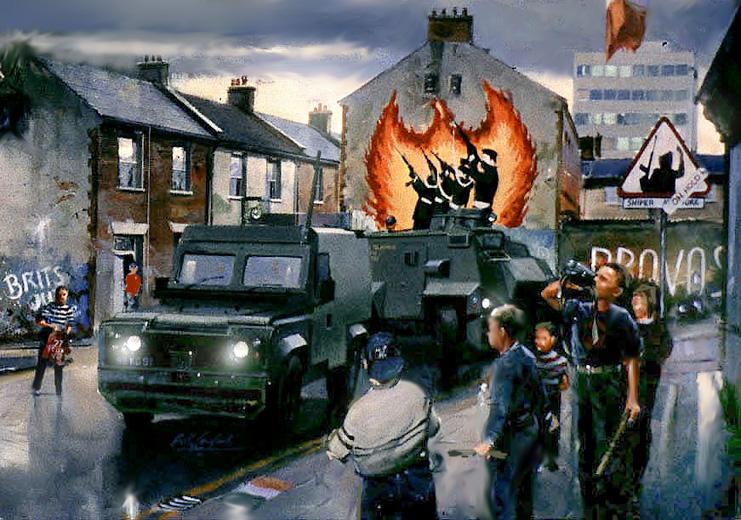 Northern Ireland Belfast 1990s