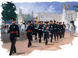 7 Regt on the Mall
