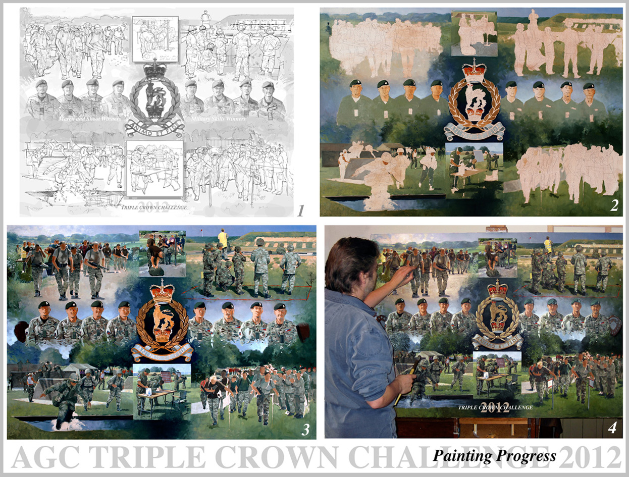 AGC Triple Crown Challenge progress