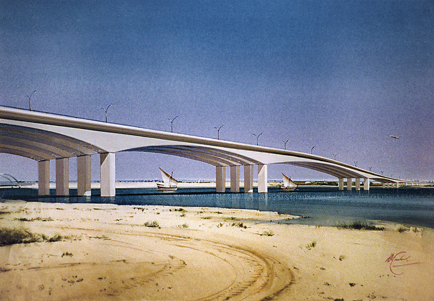 Kuwait bridge proposal