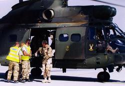 Puma. Casualy evacuation, Oman