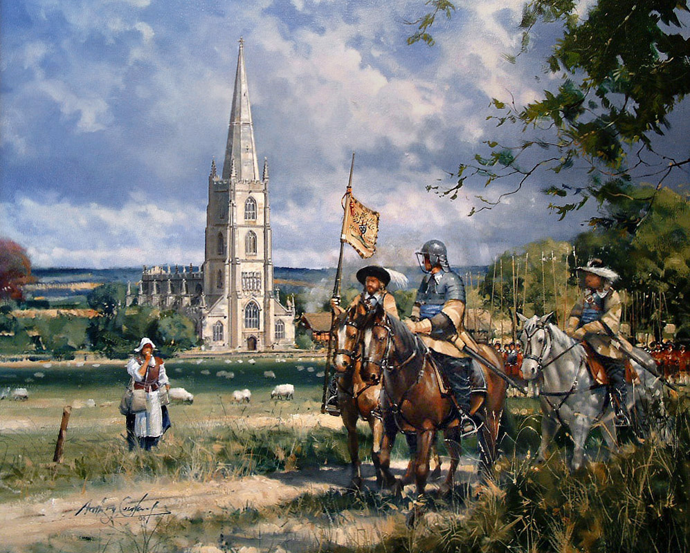 Steeple Ashton in the English Civil War.