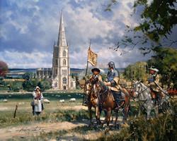 Steeple Ashton in the English Civil War.