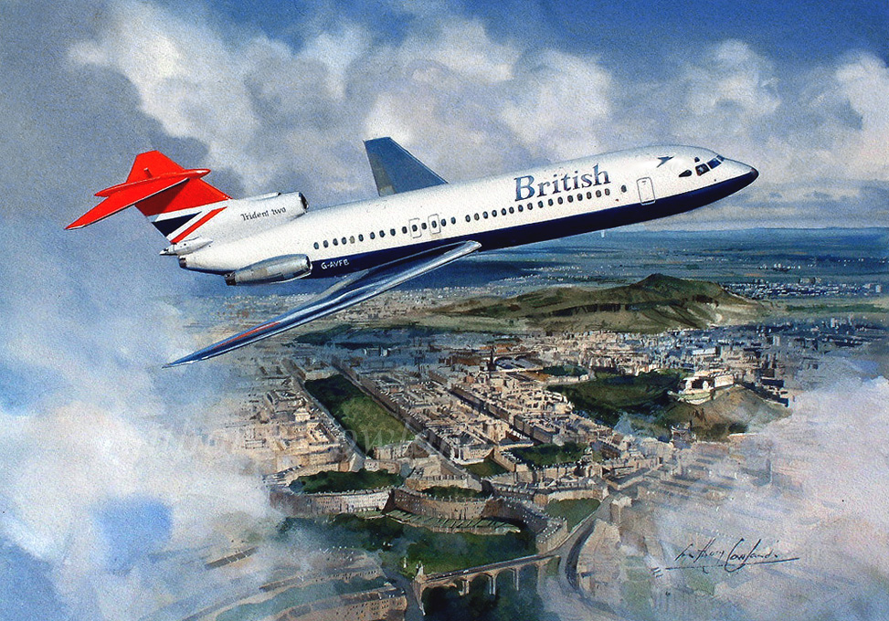 HS Trident 2 British Airways