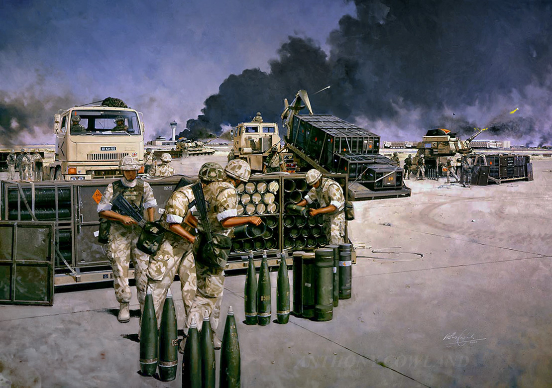 1GS Regiment. Basra Airport Iraq