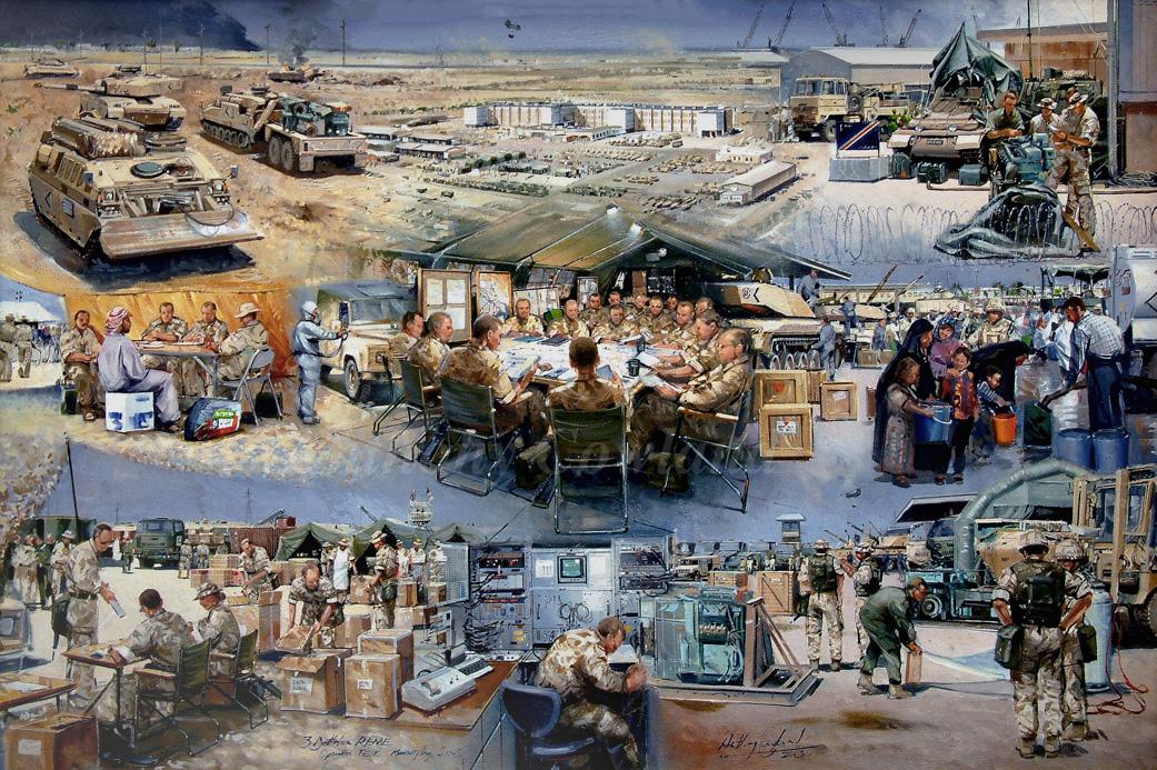 3Btn REME Kuwait & Iraq