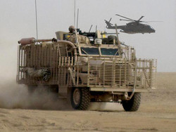 Mastiff and Merlin. Helmand Province