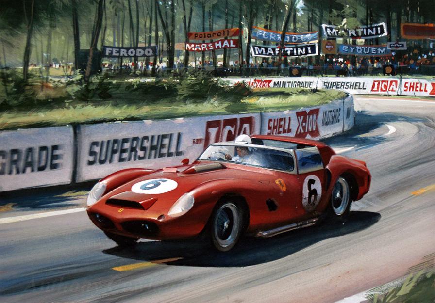 Ferrari 330 (1962 Le Mans)