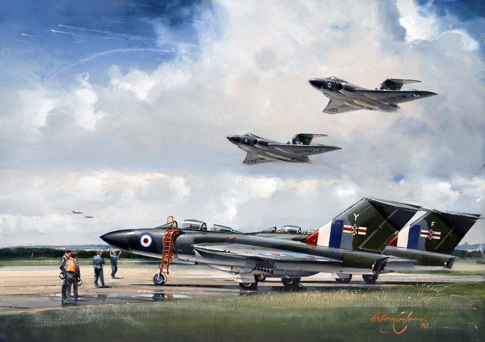Gloster Javelin 41Sqn RAF