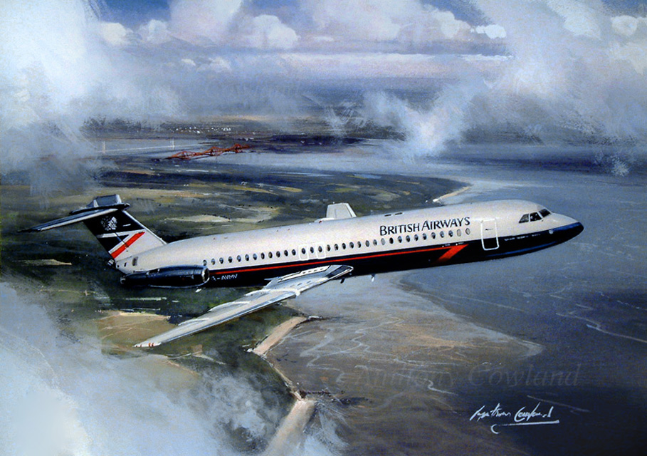 BAC 111 British Airways